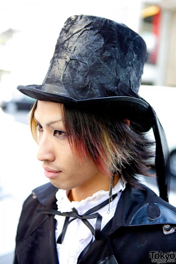 Gothic Men's Fashion in Harajuku