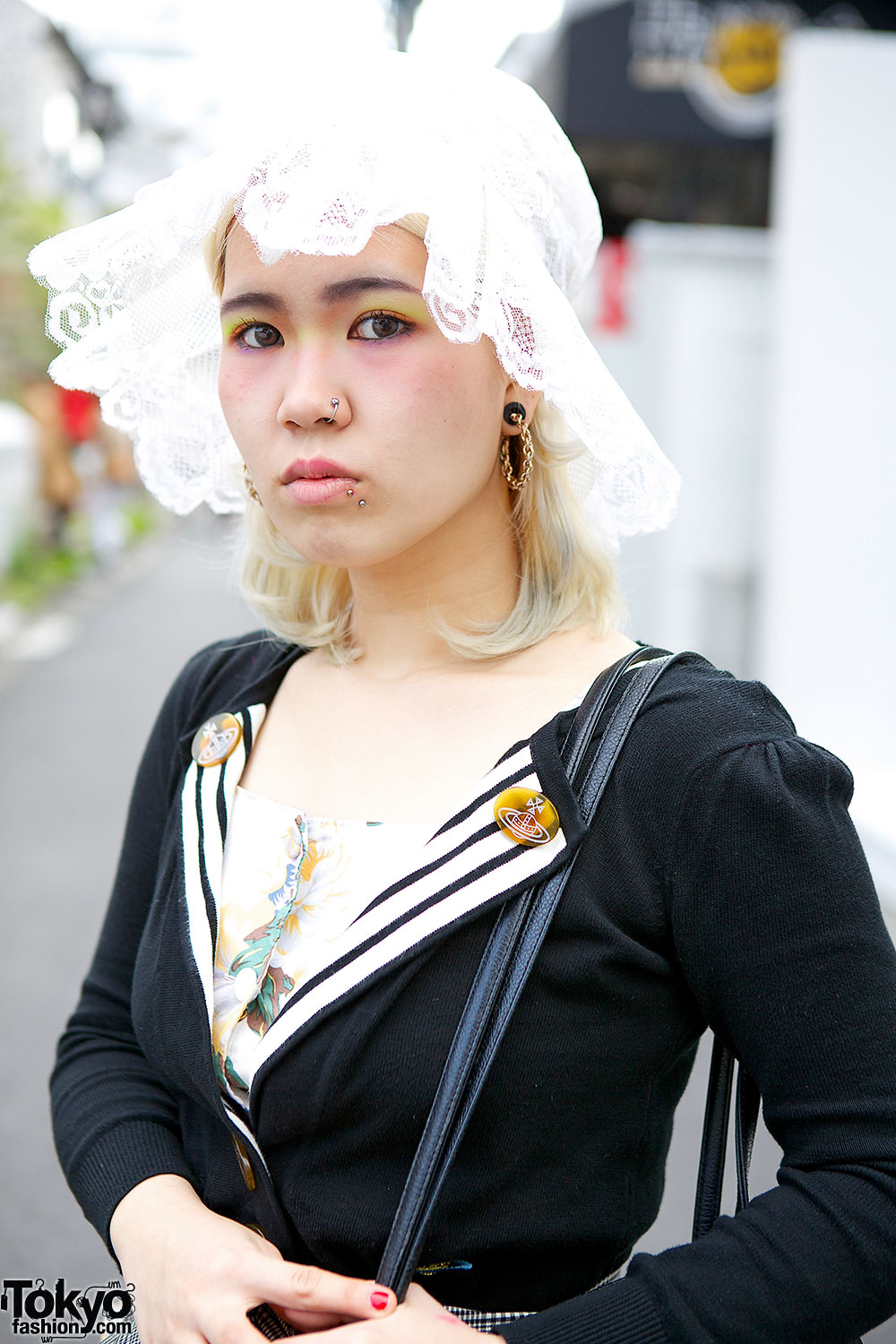 Vivienne Westwood & Chanel vs. Patched Hat & Buckle Shoes in Harajuku