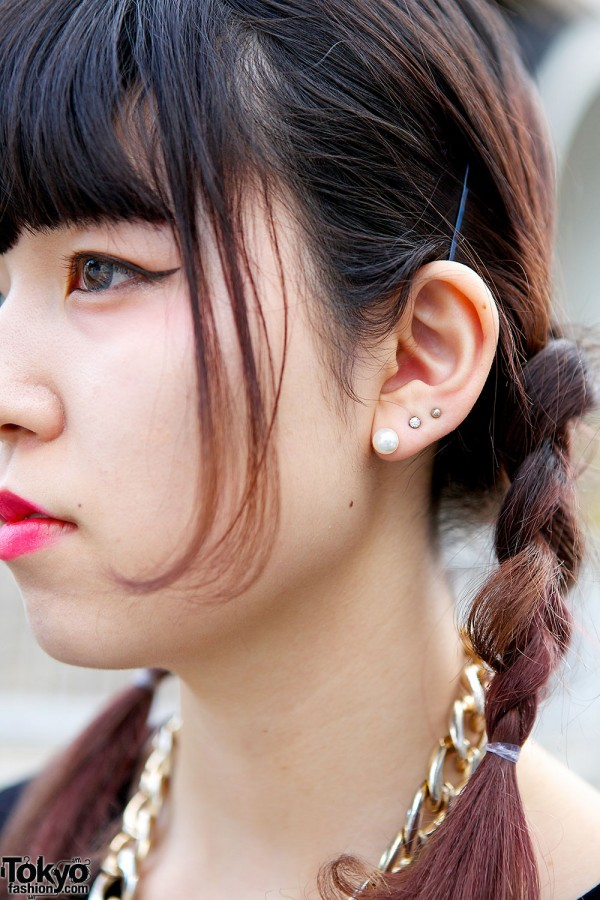 Braided Harajuku Hairstyle