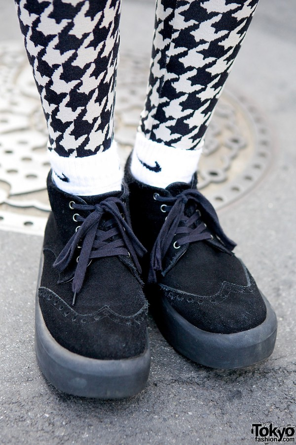 Tokyo Bopper Shoes & Houndstooth
