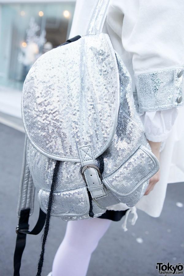 LoveDrugStore Sequin Backpack