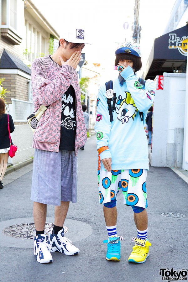Harajuku Guys Street Style