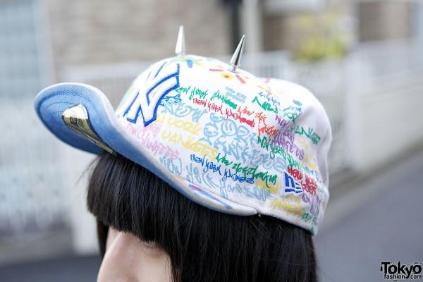 Spike Cap in Harajuku