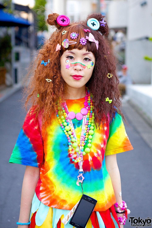 Tie Dye Top Tokyo Fashion News