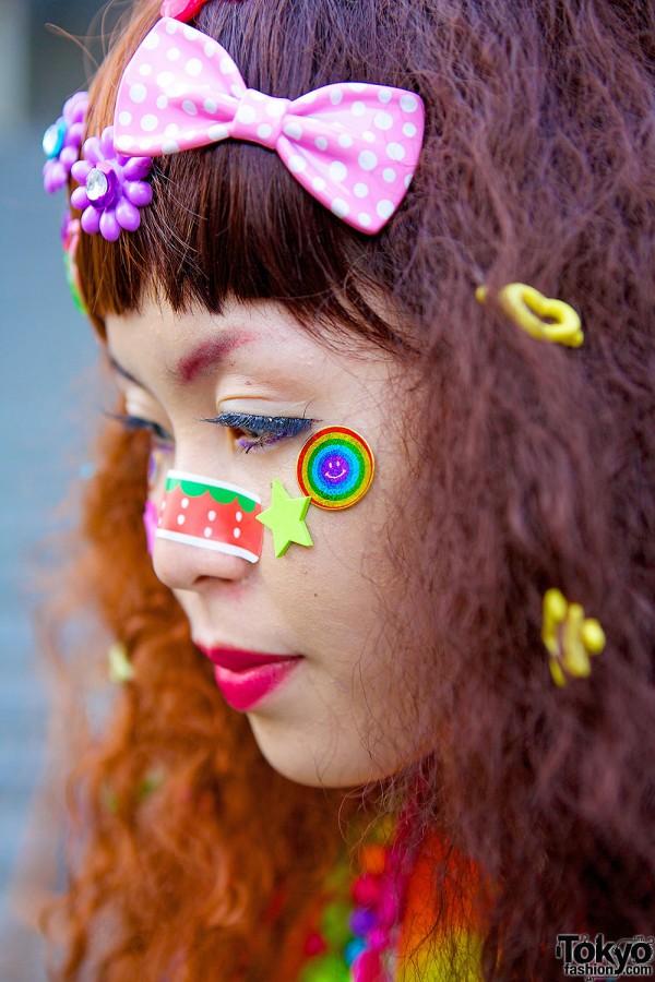Decora Face Stickers