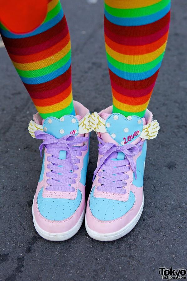 Swimmer Pastel Sneakers