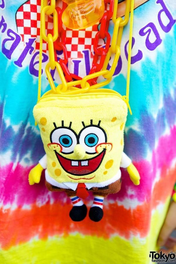 Sponge Bob Pouch