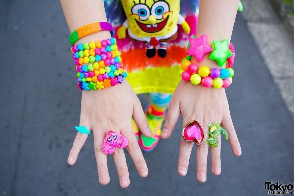 Plastic Bracelets & Rings