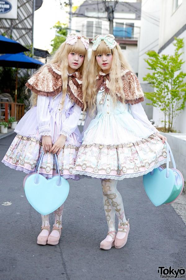Angelic Pretty Dresses in Harajuku