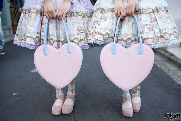 Heart Shaped Milk Bags