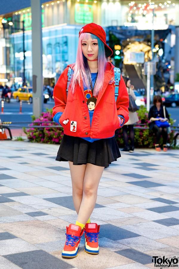 Eva Cheung in Harajuku