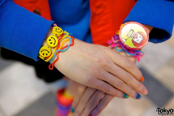 Kawaii Smiley Face Bracelets