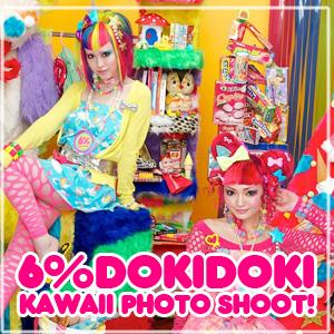 6DOKIDOKI Kaawaii Photoshoot