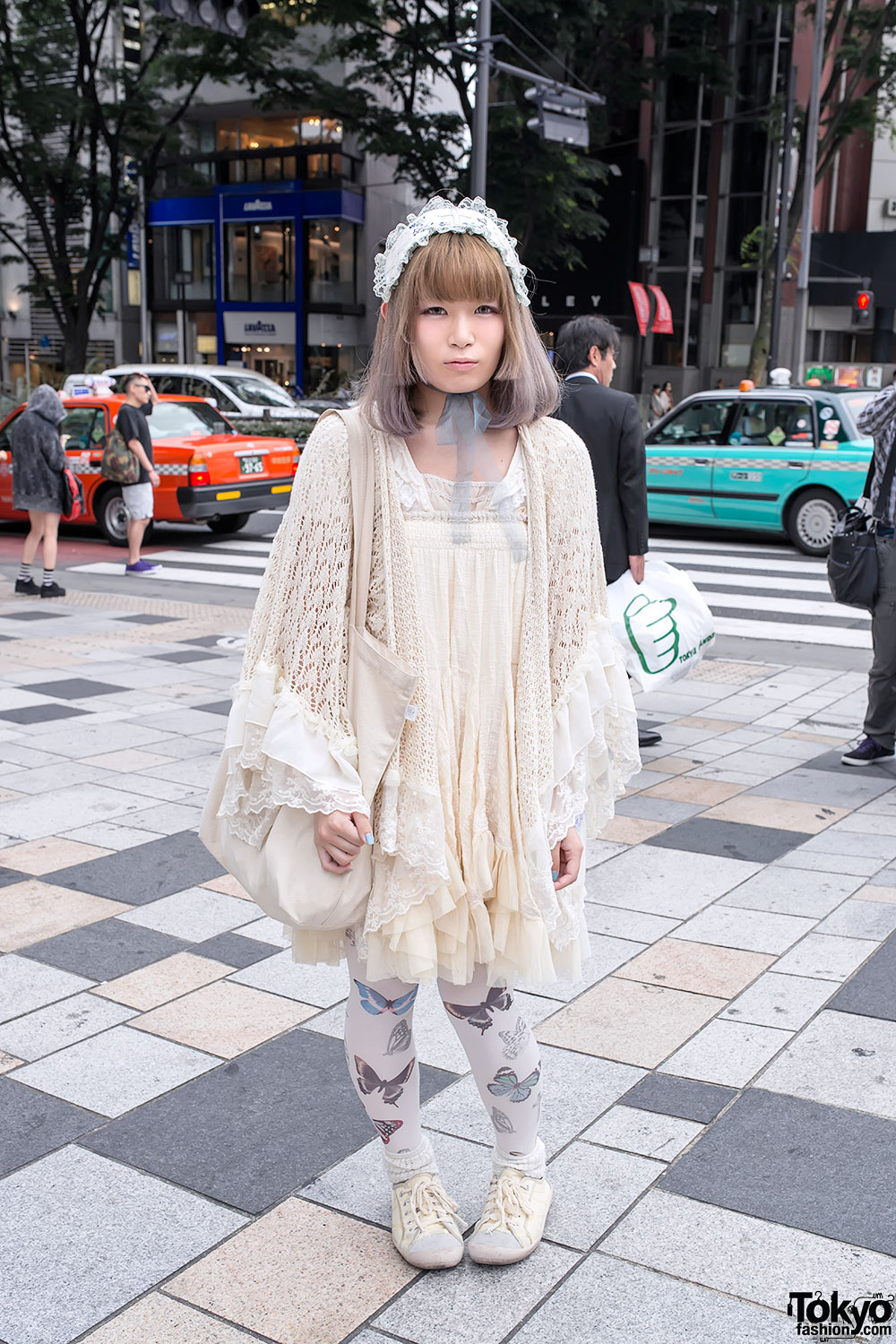 Romantic Mori Girl Fashion in Harajuku