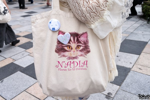 Nadia Harajuku Cat Bag