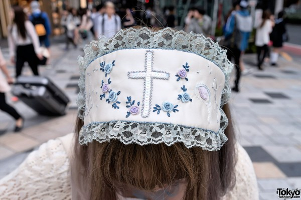 Mori Girl Head Piece in Harajuku