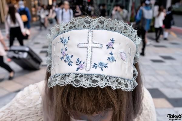 Mori Girl Head Piece in Harajuku