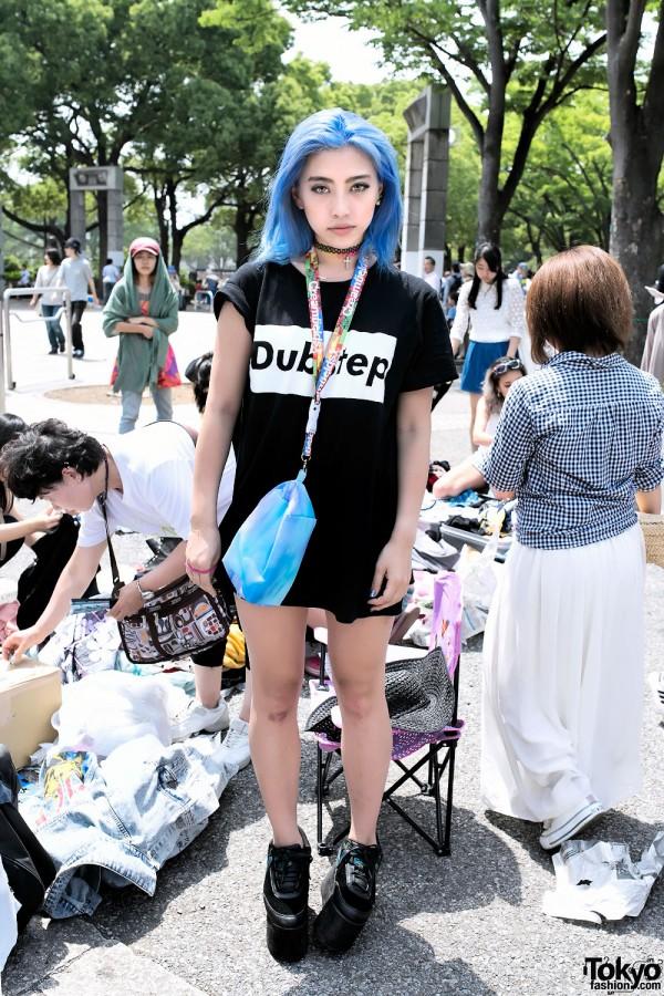 Alisa Ueno at Yoyogi Flea Market