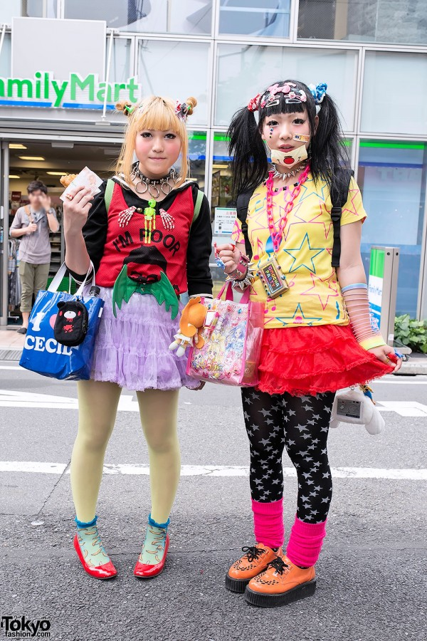 Colorful Harajuku Decora Fashion