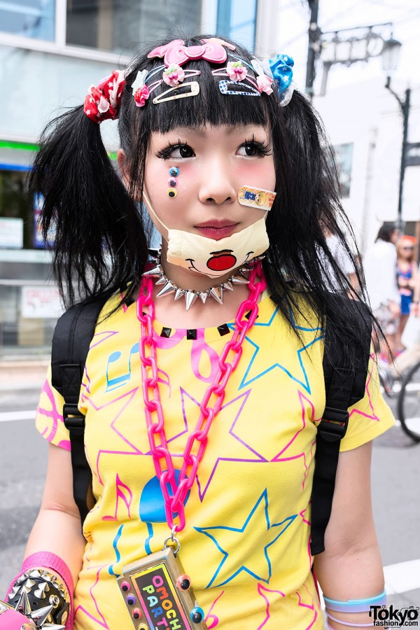 Cute Decora Hair Clips & Mask