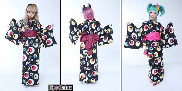 Eyeball Kimono by Edge of Darkness