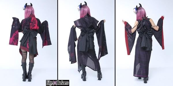 Edge of Darkness Gothic Kimono
