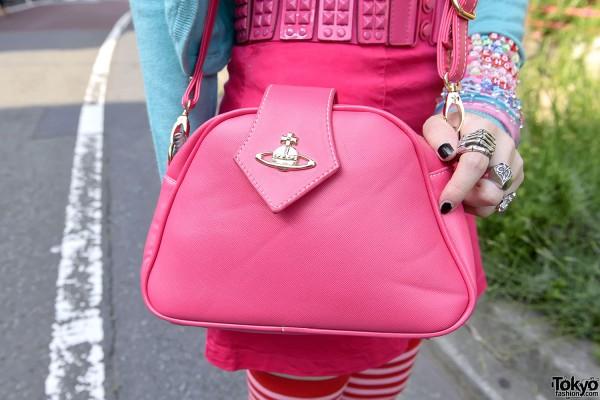 Pink Vivienne Westwood Handbag, Harajuku