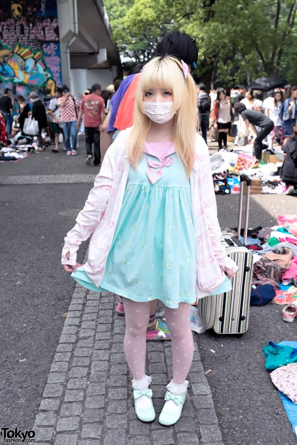 Moco's Fairy Kei Fashion at Yoyogi Flea Market