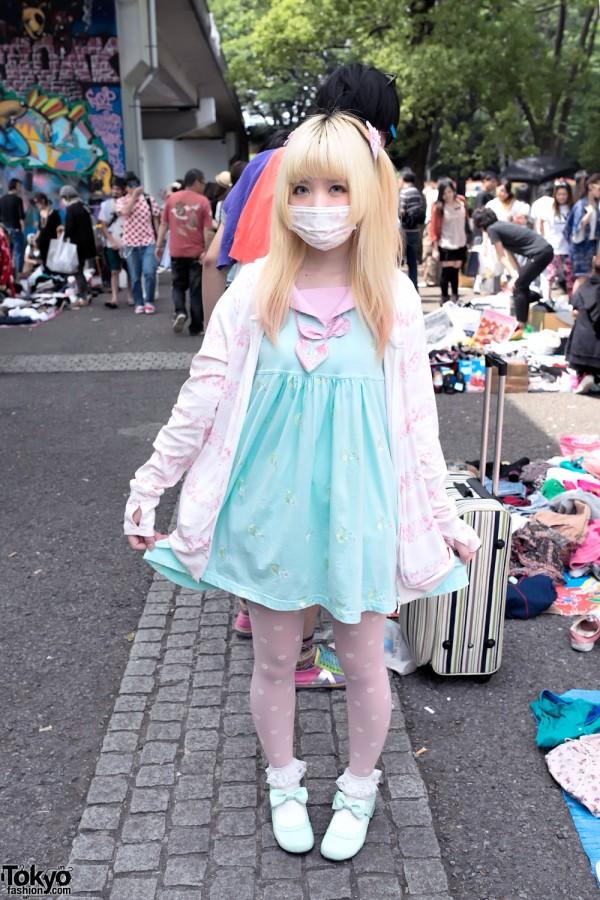 Moco's Fairy Kei Fashion at Yoyogi Flea Market