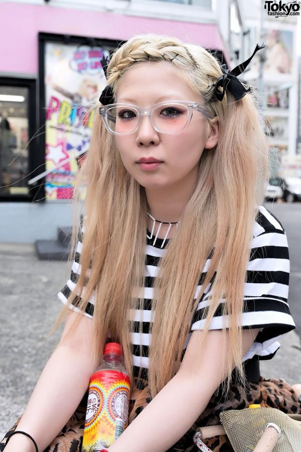 Japanese Designer w/ Blonde Hair & Glasses