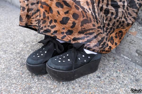 Leopard Print & Tokyo Bopper Shoes