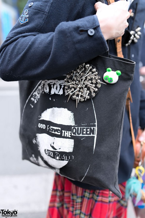 Sex Pistols Tote Bag & Spikes
