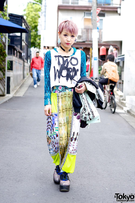 Colorful Harajuku Fashion