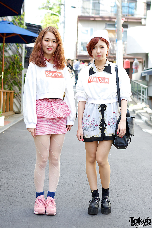 Cheonsa We Nalgae Mei Amp Moe W Peplum Skirt Amp Creepers In