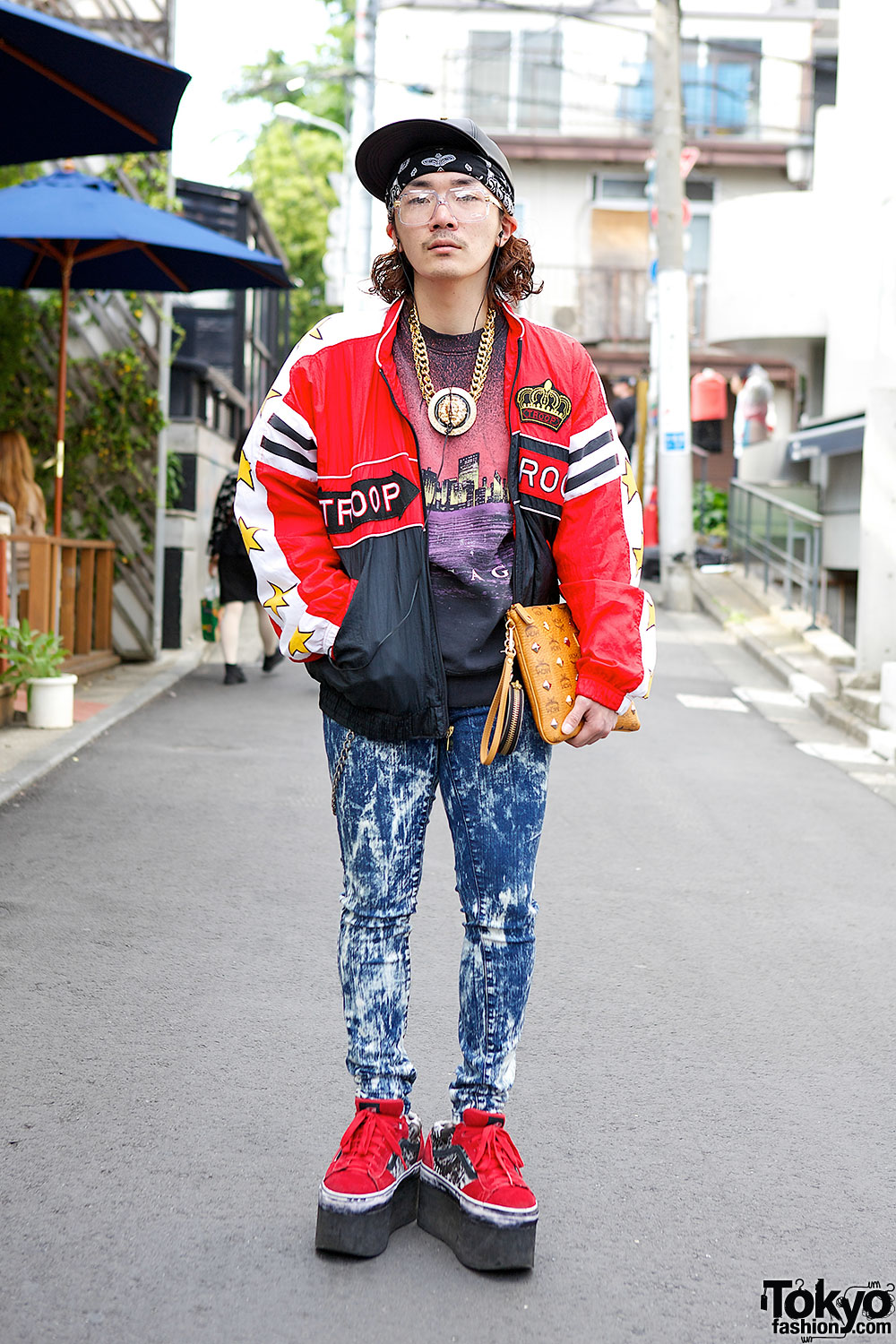 a7882d7b007df Harajuku Resale Style w  Troop Jacket