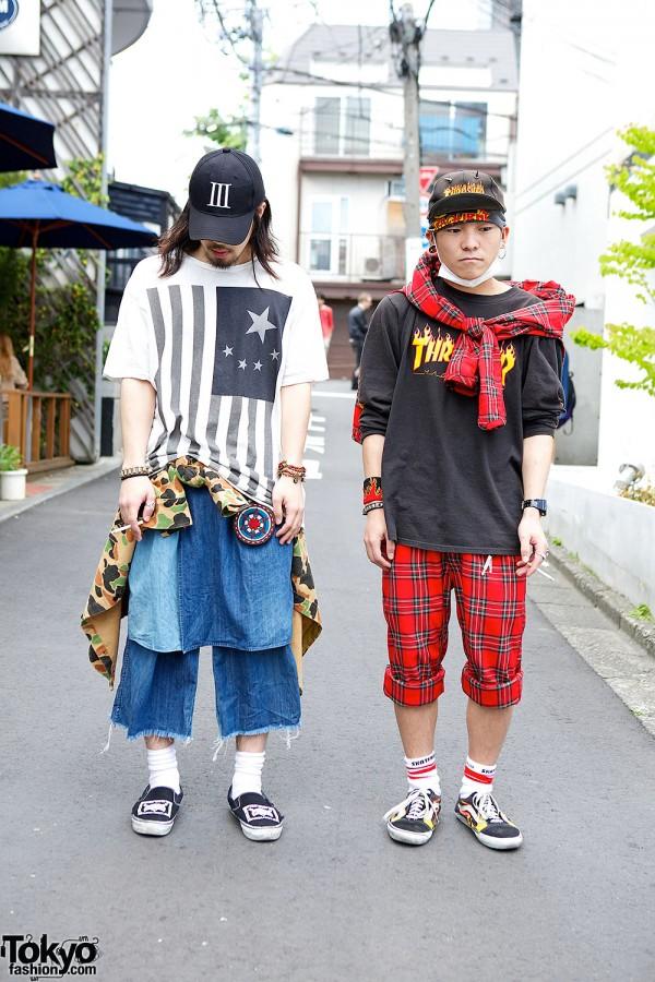 Harajuku Guys in Japanese Streetwear