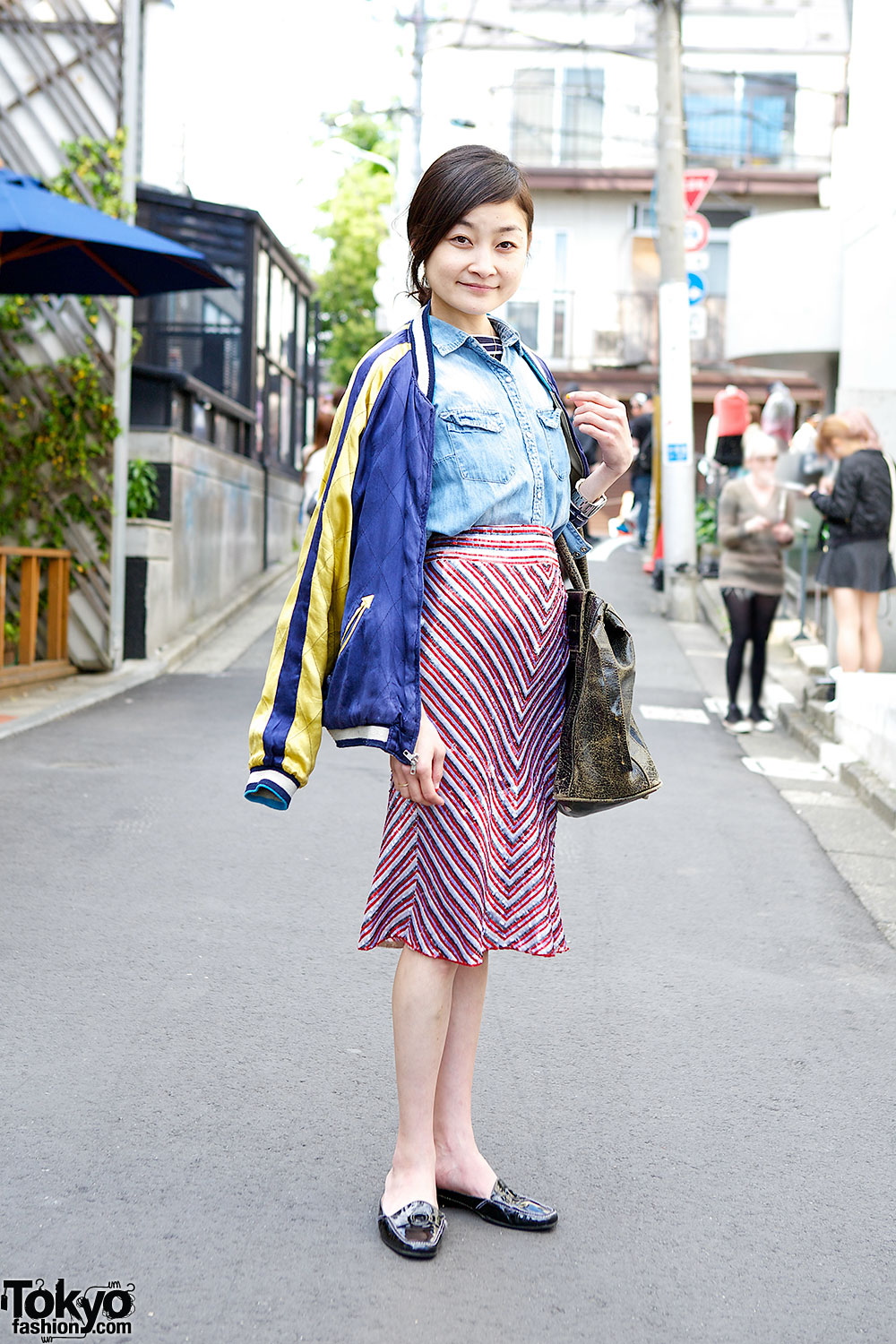Japanese Street Fashion Photographer Rei Shito In Harajuku