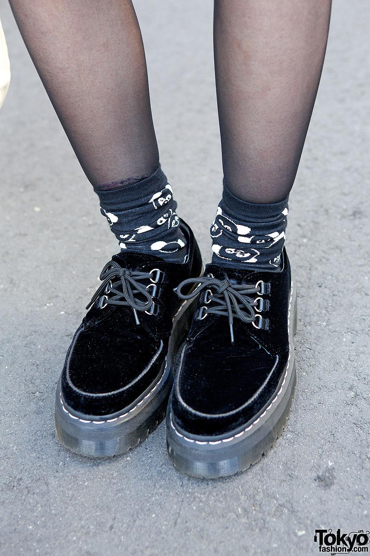Agyness Deyn X Dr Martens Creepers Tokyo Fashion News