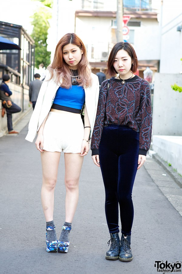 Harajuku girls in Emoda