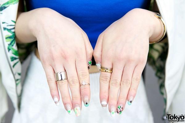 Emoda & Forever21 rings