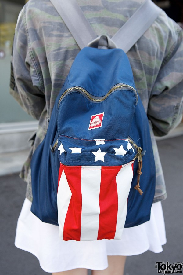 Flag packpack