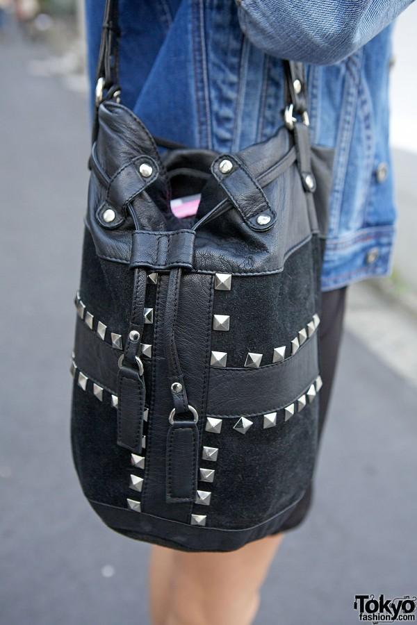 Topshop Studded Bag