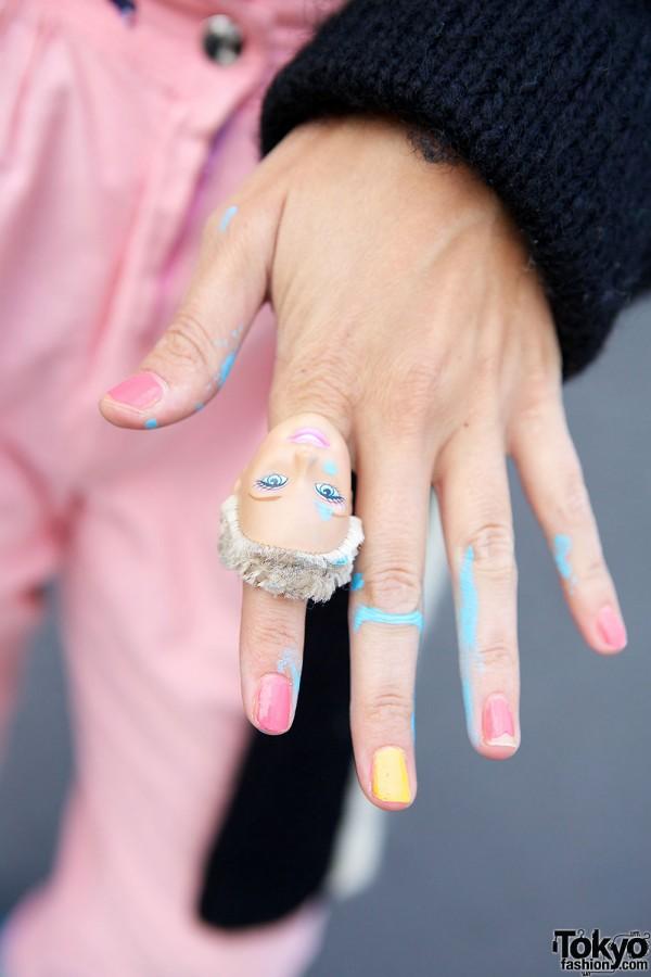 Doll head ring