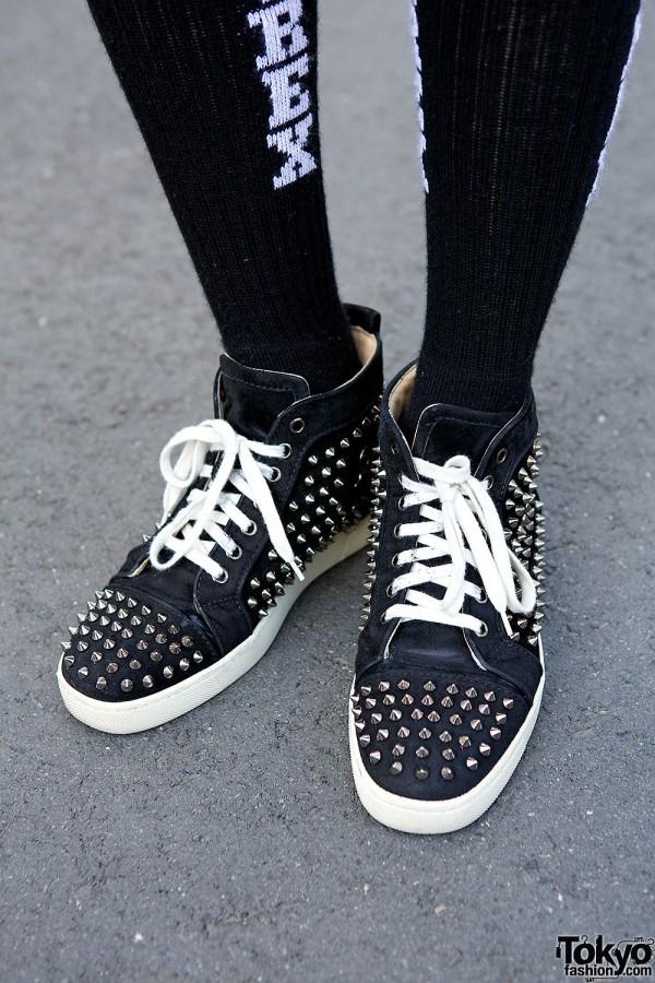 Fashion Hi Top Shoes