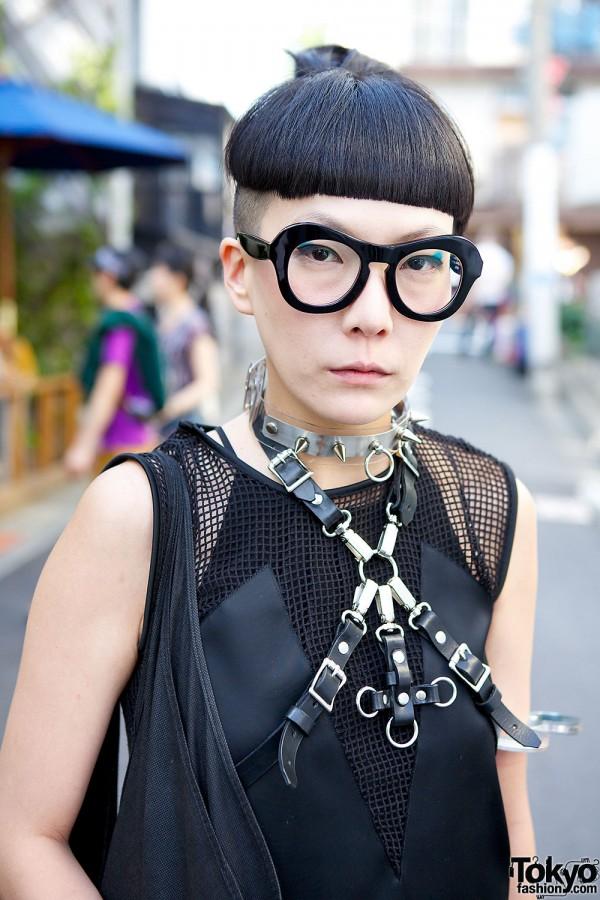 re:shop top & glasses