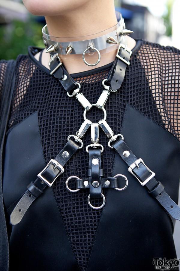 Fashion Harness in Harajuku