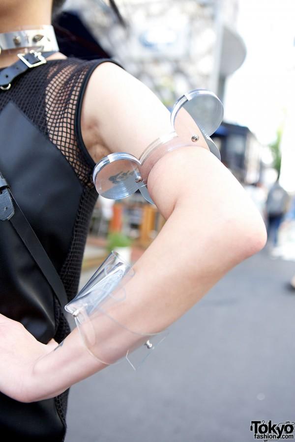 Transparent Arm Bands