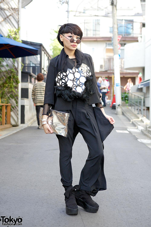 Stylist Judy Chou In Harajuku W Re Shop Harcoza Tokyo Bopper