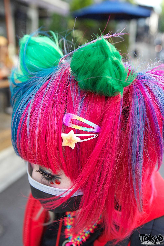 rainbow hair � tokyo fashion news
