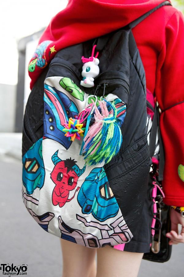 Manga Artwork Backpack